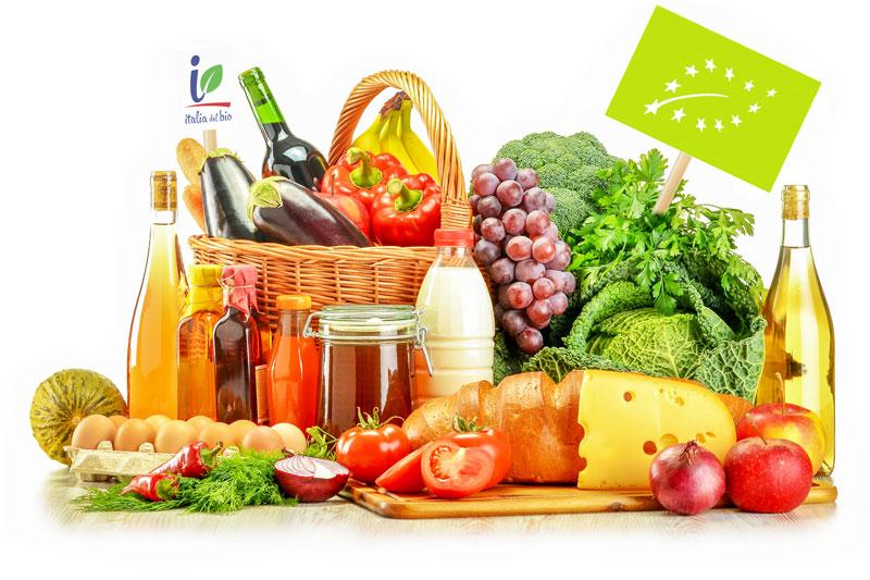 Prodotti biologici a marchio Italia del Bio